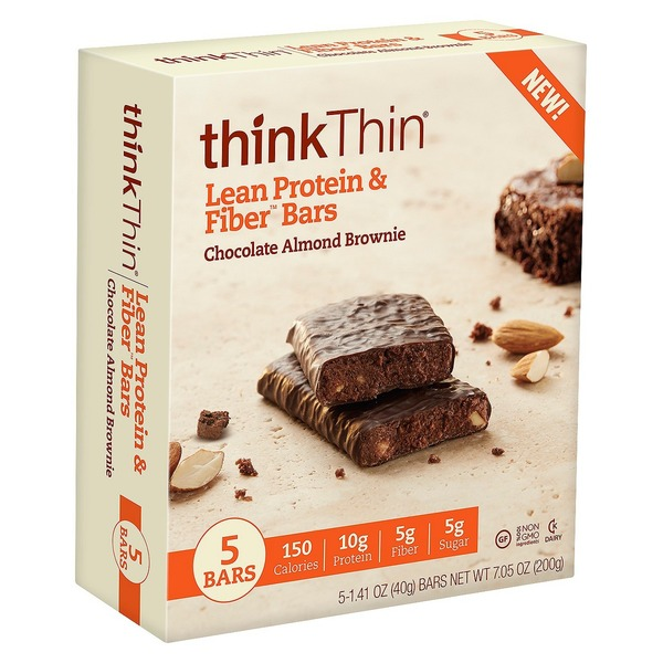 thinkThin Chocolate Almond Brownie High Protein