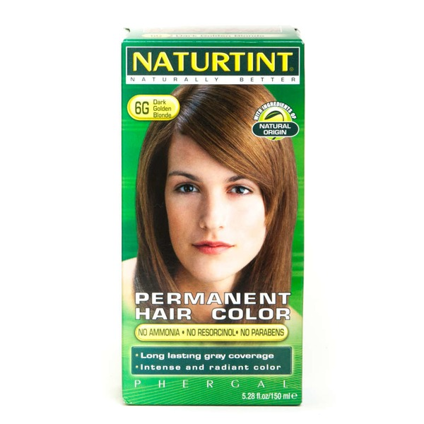 Naturtint Permanent Hair Color, Dark Golden Blonde 6G