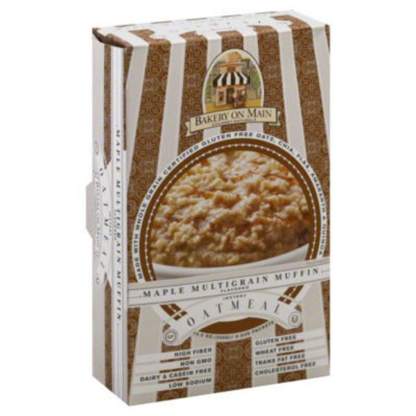 Bakery on Main Instant Oatmeal Maple Multigrain Muffin - 6 CT