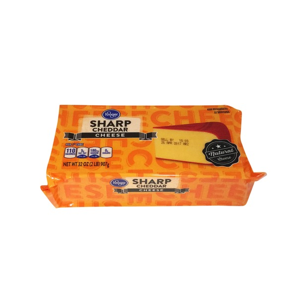 Kroger Sharp Cheddar Cheese