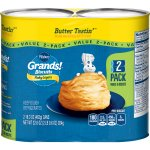 Pillsbury Grands! Flaky Layers Butter Tastin' Biscuits Value Pack, 2 Cans, 16 Ct, 32.6 oz, 16.3 OZ