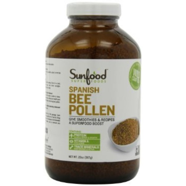 Sunfood Nutrition Spanish Bee Pollen