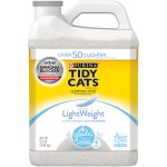 Purina Tidy Cats LightWeight Clumping Cat Litter with Glade Tough Odor Solutions Clear Springs 8.5 lb. Jug