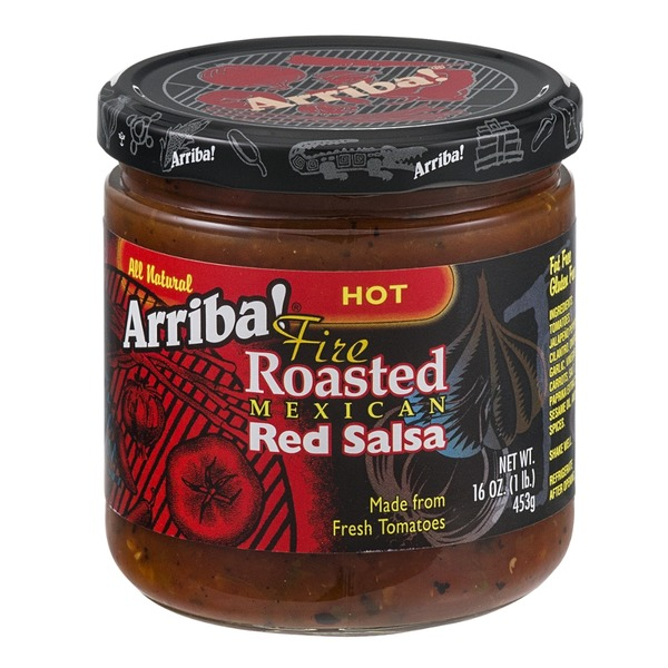 Arriba! Fire Roasted Mexican Red Salsa Hot