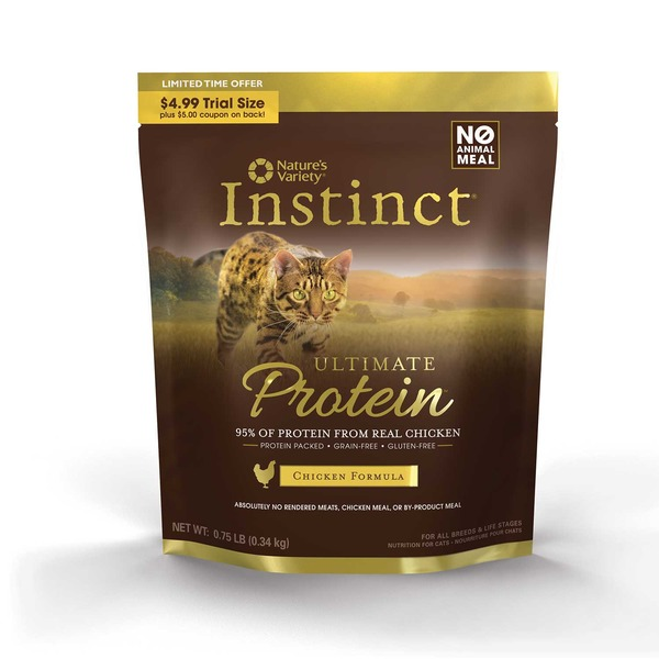 Nature's Variety Instinct Ultimate Protein Chicken Cat Food
