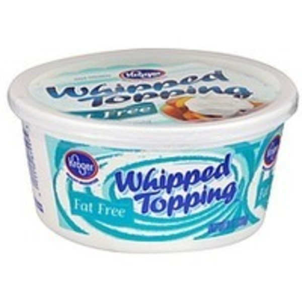 Kroger Fat Free Whipped Topping