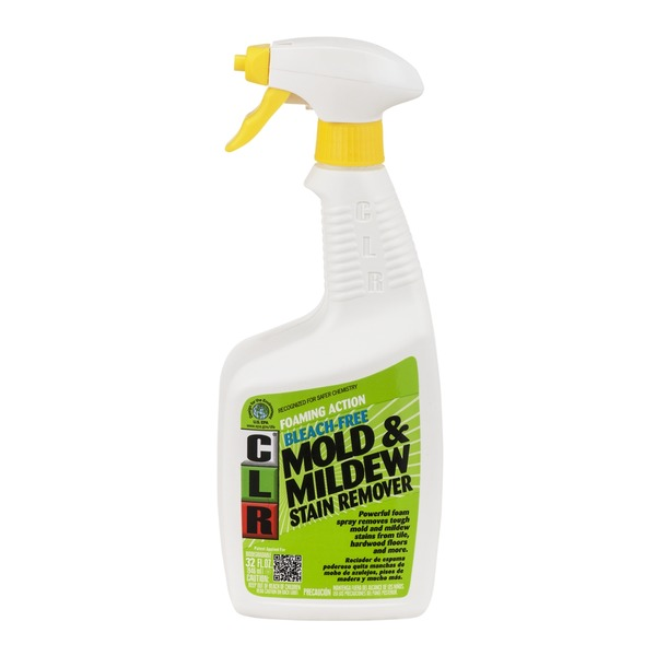 CLR Mold & Mildew Foaming Action Stain Remover Bleach Free