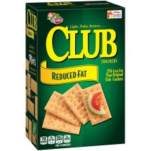 Keebler Club Reduced Fat Baked Snack Crackers, 11.7 oz