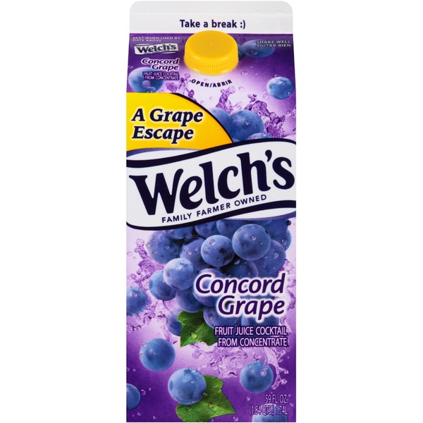 Welch's Concord Grape Fruit Juice Cocktail