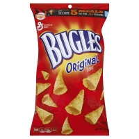 Bugles Corn Snacks Crispy Original Flavor