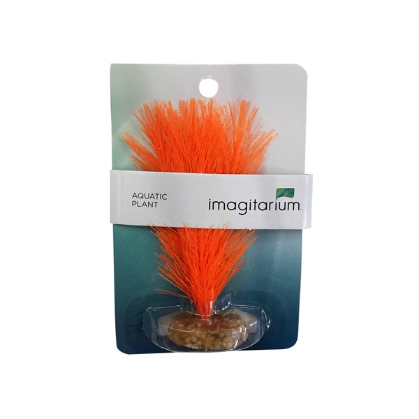 Petco Imagitarium Small Orange Feather Silk