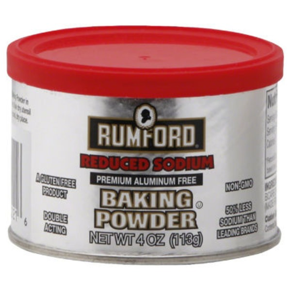 Rumford Baking Powder Reduced Sodium