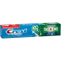 Crest Complete Toothpaste Whitening + Scope Outlast, 5.8 oz