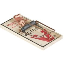 Victor 4-Pack Metal Pedal Mouse Trap