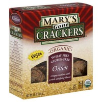 Mary's Gone Crackers Onion Crackers