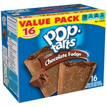 Pop-Tarts Frosted Chocolate Fudge Toaster Pastries Value Pack, 16 count, 29.3 oz