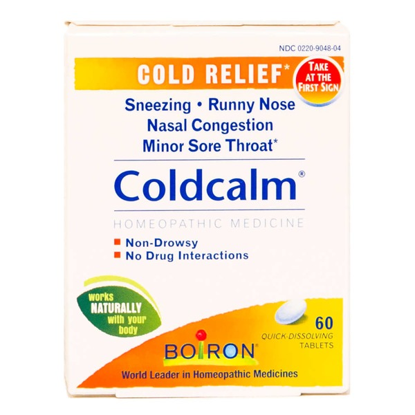 Boiron Coldcalm Cold Quick-Dissolving Tablets - 60 CT