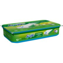 Swiffer with Febreze Lavender Vanilla & Comfort Sweeper Wet Mopping Cloths 12 ct Plastic Tub