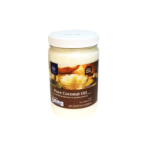 Kroger Pure Coconut Oil