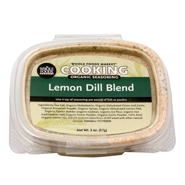 Whole Foods Market Organic Lemon Dill Seasoning