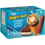 Great Value Ice Cream Variety Pack, 32 Count