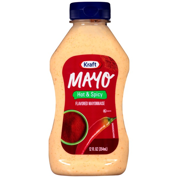 Kraft Mayo Hot & Spicy Mayonnaise