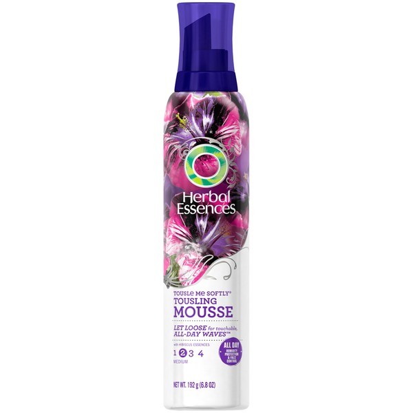 Herbal Essences Base Version Herbal Essences Tousle Me Softly Tousling Mousse 6.8 Oz  Female Hair Care