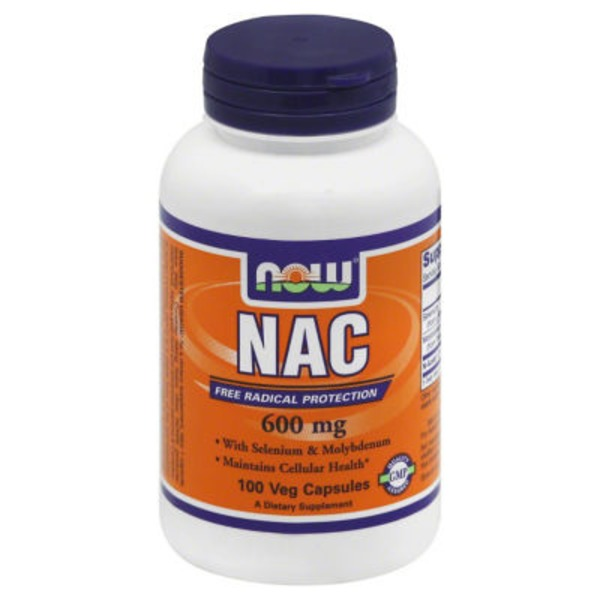 Now NAC 600 mg Veg Capsules