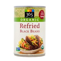 365 Organic Refried Black Beans