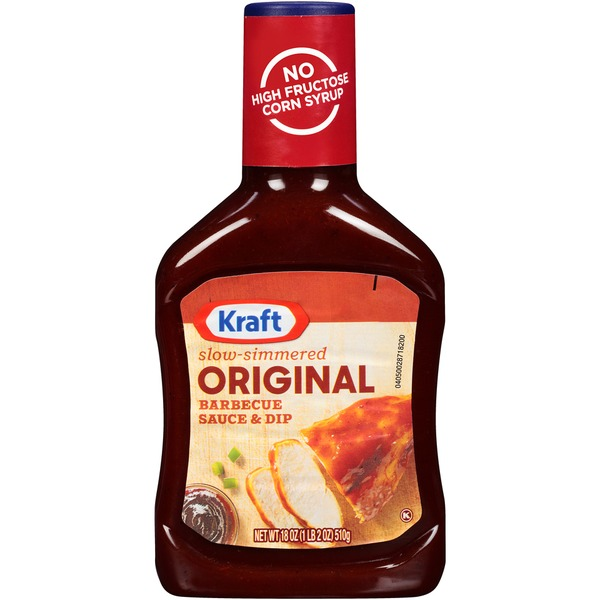 Kraft Barbecue Sauce Original Barbecue Sauce & Dip