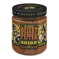 Desert Pepper All Natural Black Bean Dip Spicy