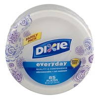 Dixie Everyday Plates - 85 CT