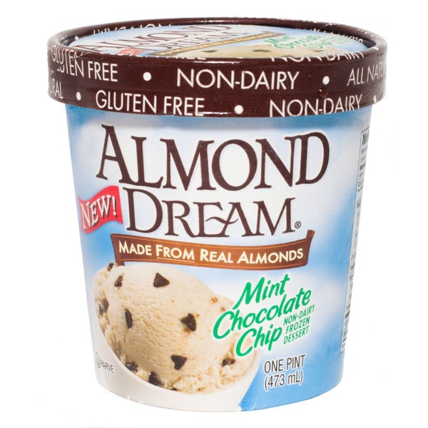 Almond Dream Mint Chocolate Chip Almond Frozen Dessert