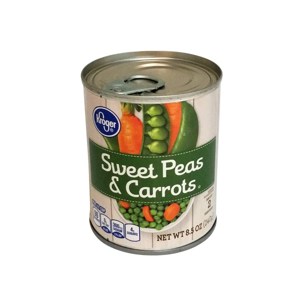 Kroger Sweet Peas and Carrots