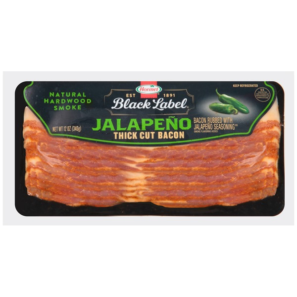 Hormel Black Label Jalapeno Thick Cut Bacon