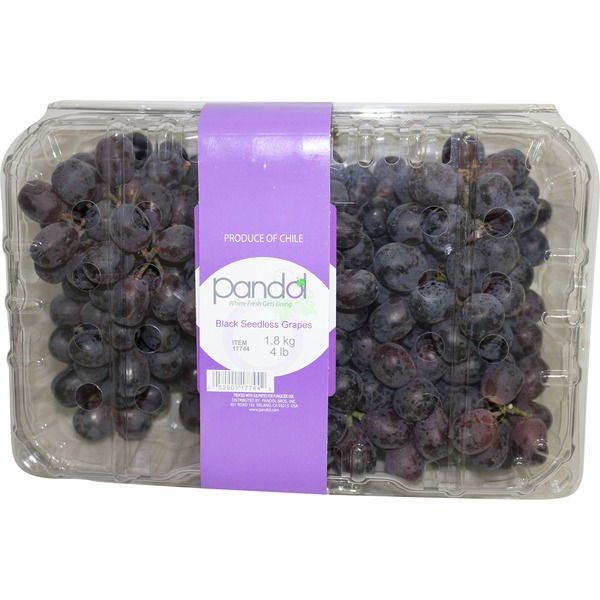 Divine Flavor Black Seedless Grapes
