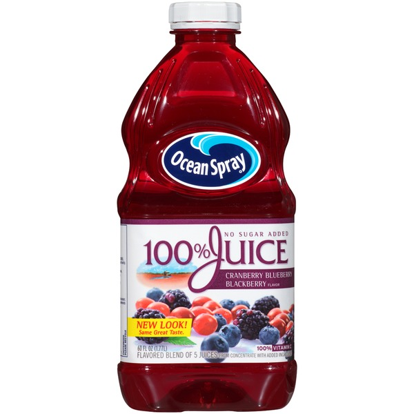 Ocean Spray Cranberry Blueberry Blackberry Flavor 100% Juice