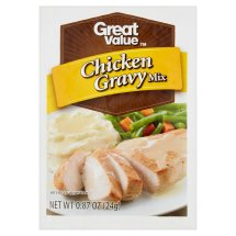 Great Value Chicken Gravy Mix, 0.87 oz
