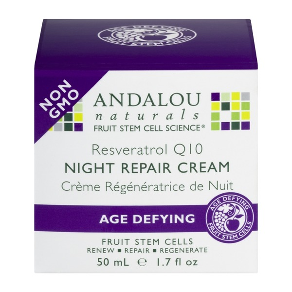 Andalou Naturals Night Repair Cream Age Defying