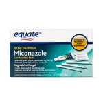 Equate Miconazole Vaginal Antifungal 3-Day Treatment, 200 mg