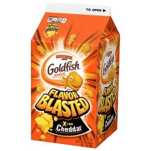 Pepperidge Farm Goldfish Baked Snack Cracker, Flavor Blasted Xtra Cheddar, 30 Oz