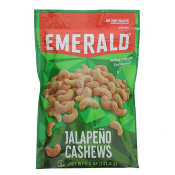 Emerald. Jalapeno Cashews