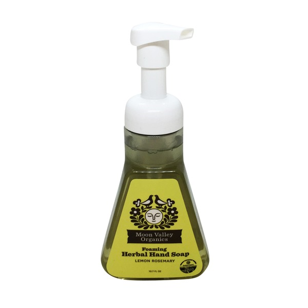 Moon Valley Organics Foaming Herbal Hand Soap Lemon Rosemary