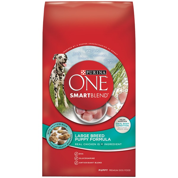 Purina One Dog Dry SmartBlend Large Breed Puppy Formula Dog Food