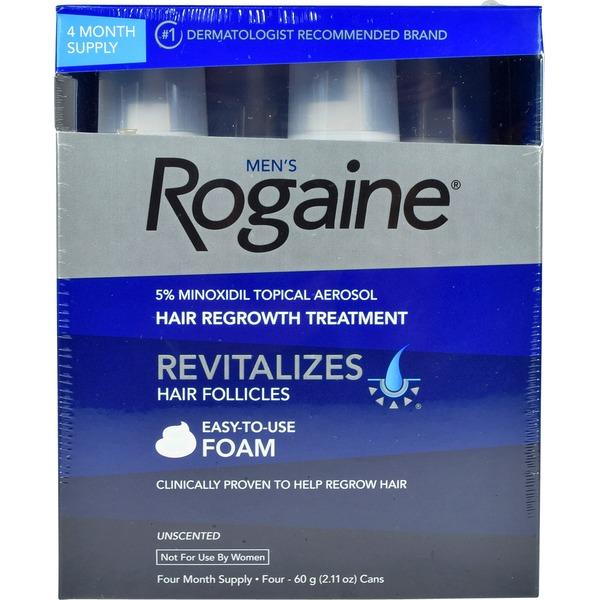 Rogaine 1 5% Mioxidil Hair Regrowth Treatment