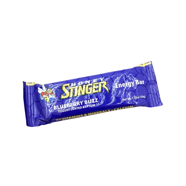 Honey Stinger Blueberry Buzz Energy Bar Each