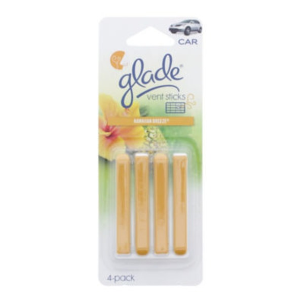 Auto Expressions Glade Sticks Hawaiian Breeze