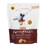 Somersaults Snack Co Crunchy Sunflower Seed Bites Cinnamon