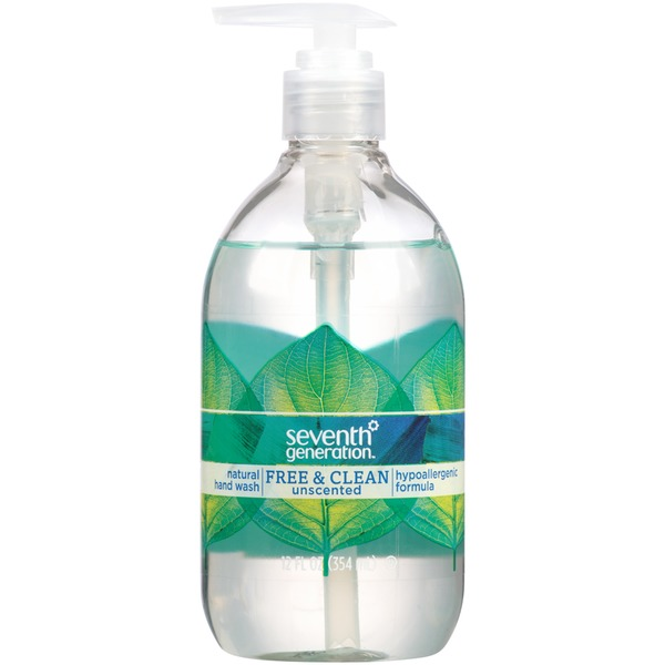 Seventh Generation Free & Clean Unscented Natural Hand Wash