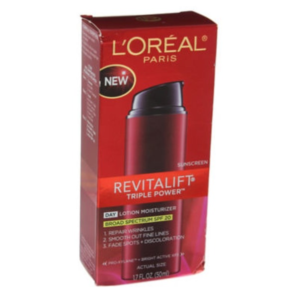 Revitalift SPF 20 Triple Power Day Lotion